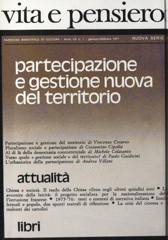 VITA E PENSIERO - 1977 - 1