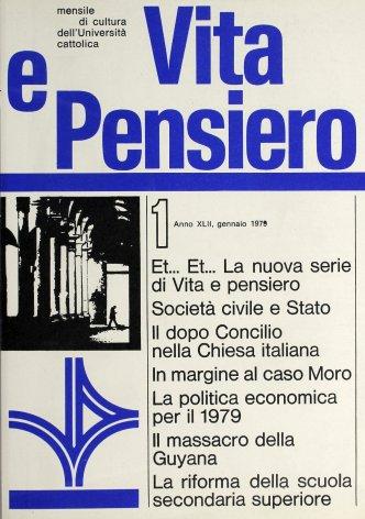 VITA E PENSIERO - 1979 - 1