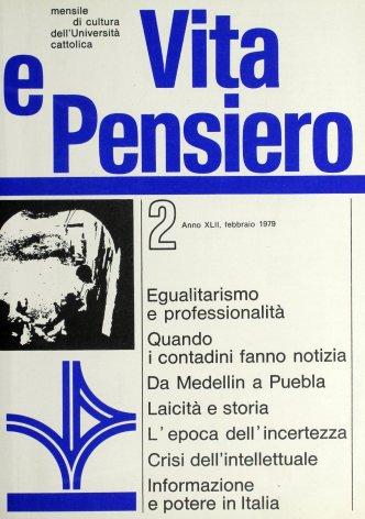 VITA E PENSIERO - 1979 - 2