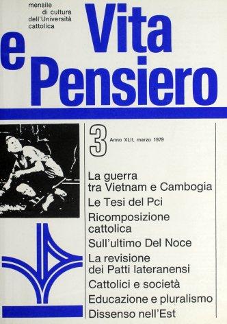 VITA E PENSIERO - 1979 - 3