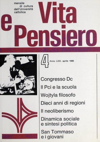 VITA E PENSIERO - 1980 - 4