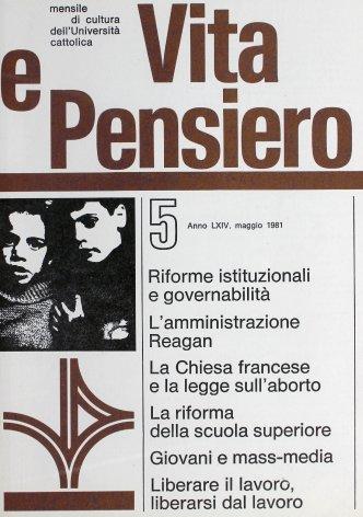 VITA E PENSIERO - 1981 - 5