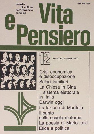 VITA E PENSIERO - 1982 - 12