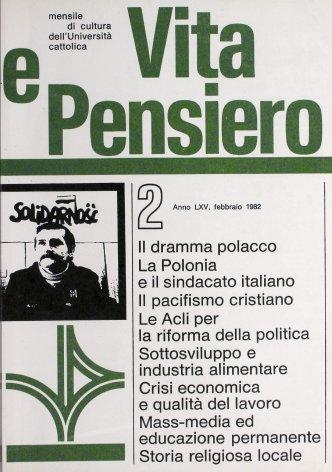 VITA E PENSIERO - 1982 - 2