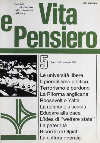 VITA E PENSIERO - 1982 - 5