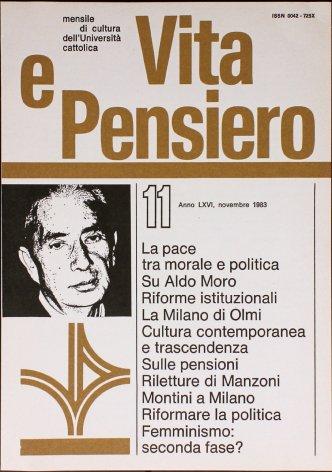 VITA E PENSIERO - 1983 - 11