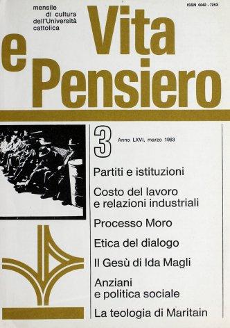 VITA E PENSIERO - 1983 - 3