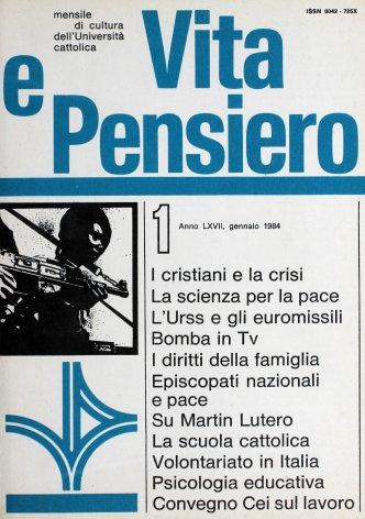 VITA E PENSIERO - 1984 - 1