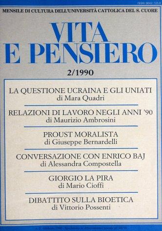 VITA E PENSIERO - 1990 - 2