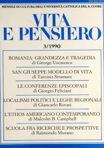 VITA E PENSIERO - 1990 - 3