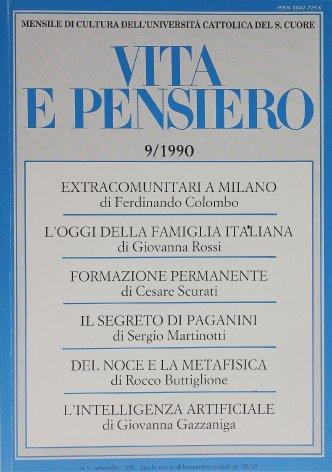 VITA E PENSIERO - 1990 - 9