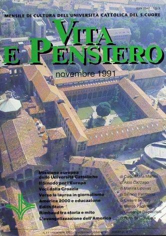 VITA E PENSIERO - 1991 - 11