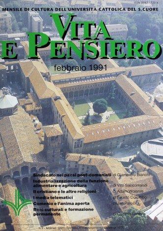 VITA E PENSIERO - 1991 - 2