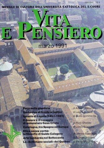 VITA E PENSIERO - 1991 - 3