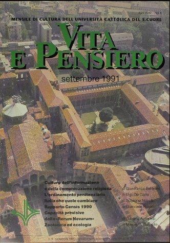 VITA E PENSIERO - 1991 - 9