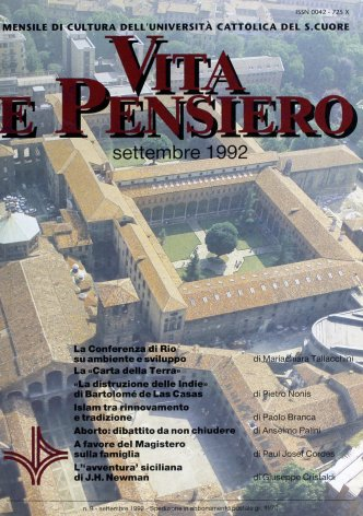 VITA E PENSIERO - 1992 - 9