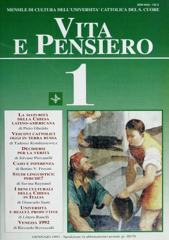 VITA E PENSIERO - 1993 - 1