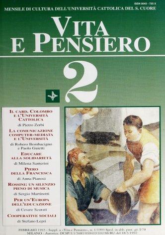 VITA E PENSIERO - 1993 - 2