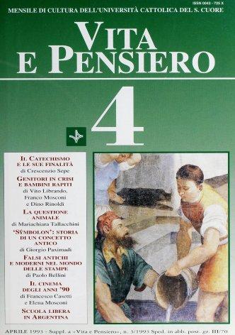 VITA E PENSIERO - 1993 - 4