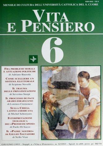 VITA E PENSIERO - 1993 - 6