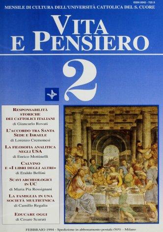 VITA E PENSIERO - 1994 - 2