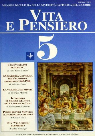 VITA E PENSIERO - 1994 - 5