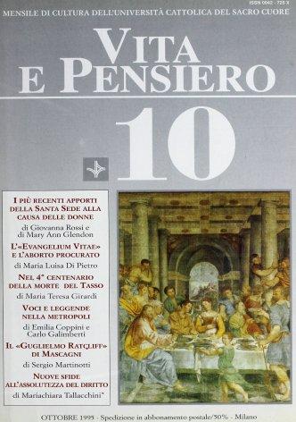 VITA E PENSIERO - 1995 - 10