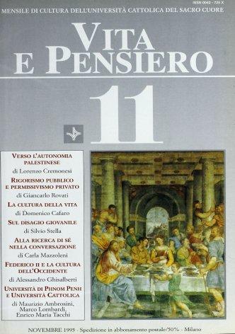 VITA E PENSIERO - 1995 - 11