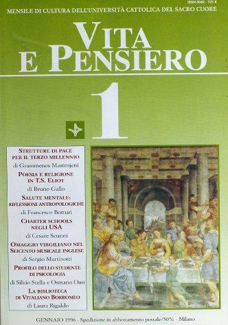 VITA E PENSIERO - 1996 - 1
