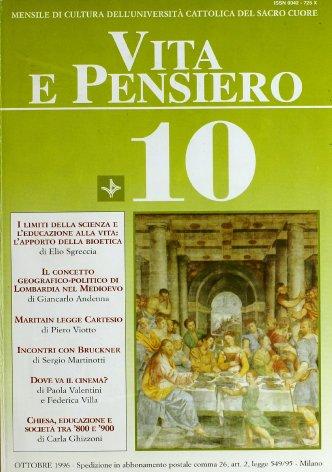 VITA E PENSIERO - 1996 - 10