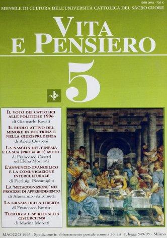 VITA E PENSIERO - 1996 - 5