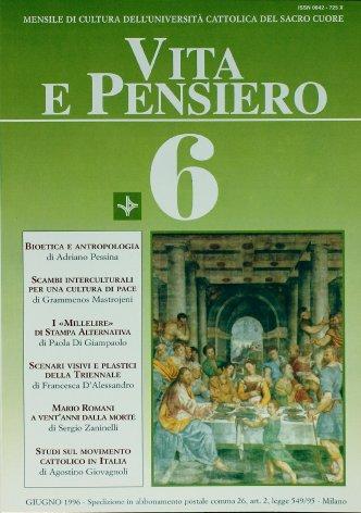 VITA E PENSIERO - 1996 - 6