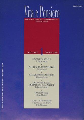 VITA E PENSIERO - 1997 - 1