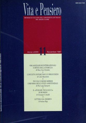 VITA E PENSIERO - 1997 - 11