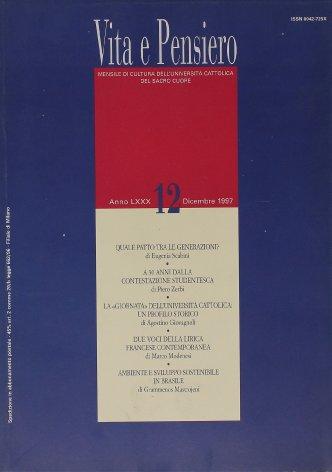 VITA E PENSIERO - 1997 - 12