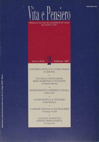 VITA E PENSIERO - 1997 - 2