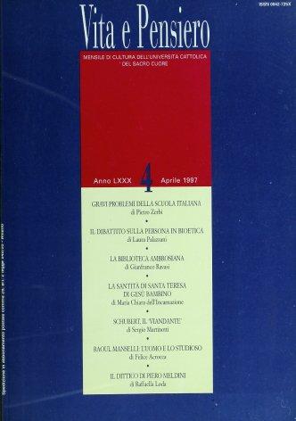 VITA E PENSIERO - 1997 - 4