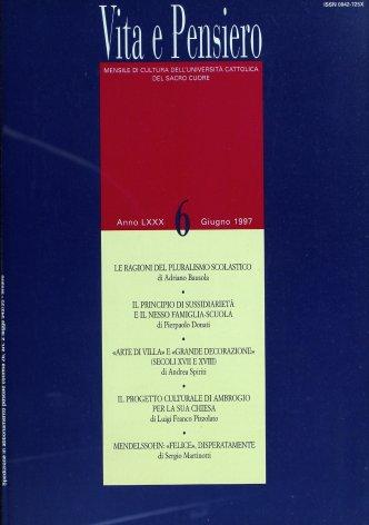 VITA E PENSIERO - 1997 - 6