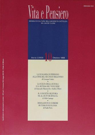 VITA E PENSIERO - 1998 - 10