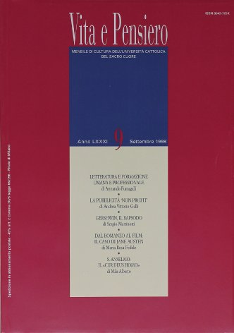 VITA E PENSIERO - 1998 - 9