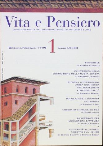 VITA E PENSIERO - 1999 - 1