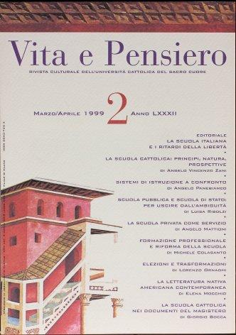 VITA E PENSIERO - 1999 - 2