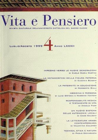 VITA E PENSIERO - 1999 - 4