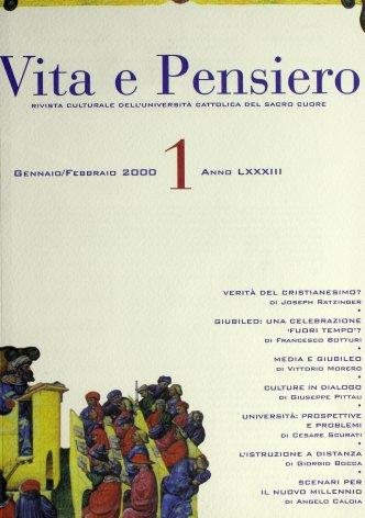 VITA E PENSIERO - 2000 - 1