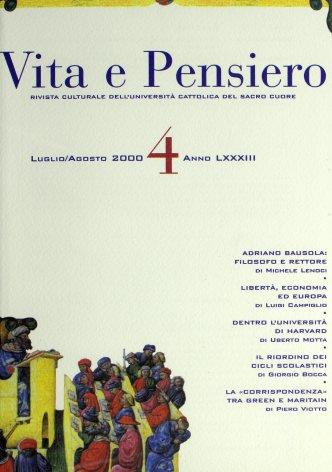 VITA E PENSIERO - 2000 - 4 SUPPL.