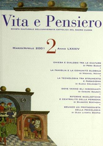 VITA E PENSIERO - 2001 - 2