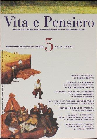VITA E PENSIERO - 2002 - 5