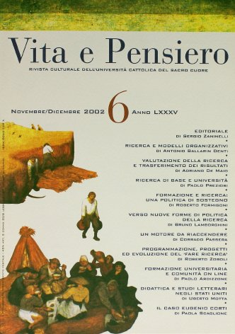 VITA E PENSIERO - 2002 - 6