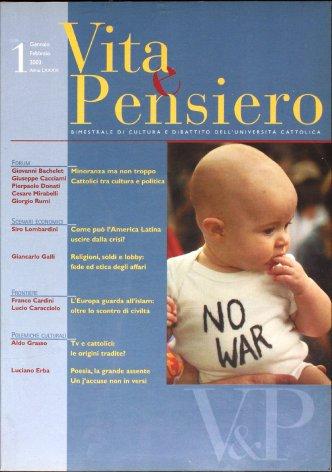 VITA E PENSIERO - 2003 - 1