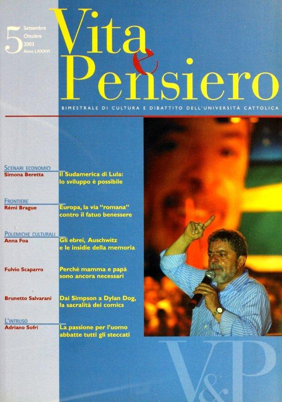 VITA E PENSIERO - 2003 - 5